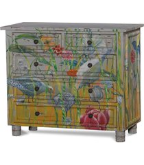 bramble 25939 vintage floral aries chinois dresser solid wood special order