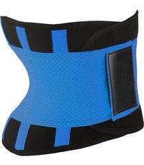 hombres mujeres cinturón deportivo cintura para adelgazar body shaper cincher cremallera cintura cincher corset trainer sweat waist cincher belt