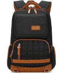 mochilas escolares oxford impermeable mochila para ordenador portátil