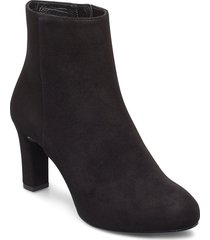 noves_ks shoes boots ankle boots ankle boot - heel svart unisa