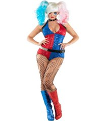 buyseason women's daddy's little monster romper costume