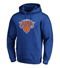 majestic new york knicks men's halpert primary logo hoodie