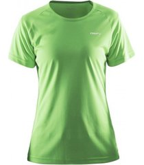 craft t-shirt women prime tee green-m