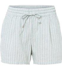 shorts in lino (verde) - bodyflirt