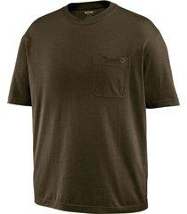 wolverine men's knox short sleeve tee olive, size xxl