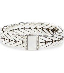 john hardy modern chain 16mm bracelet, size medium in silver at nordstrom