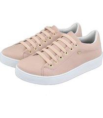 tênis feminino retta oficial sapatenis rosa