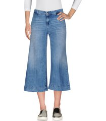kaos jeans denim capris