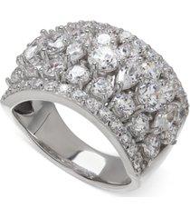 arabella swarovski zirconia pave ring in sterling silver