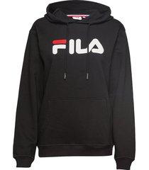 unisex classic pure hoody hoodie trui zwart fila