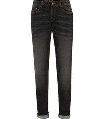 jeans elasticizzati authentic slim (nero) - john baner jeanswear