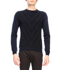 giorgio armani sweater giorgio armani pullover in flocked jacquard
