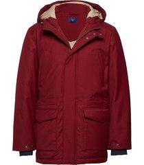 o2. the down parka parka jas rood gant