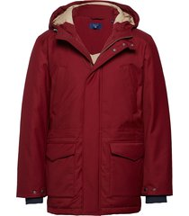 o2. the down parka parka jas rood gant