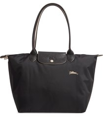 longchamp le pliage club tote - black