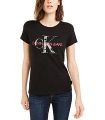 calvin klein jeans logo t-shirt