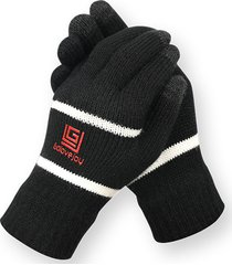 uomo winter thick touch screen windproof warm full-finger guanti outdoor home sci ciclismo guanti