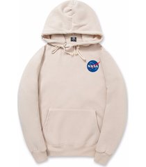 2017 xxl nasa hoodie streetwear hip hop khaki black gray pink white hooded hoody