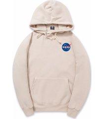2017 xxl nasa hoodie streetwear hip hop khaki black gray pink white hooded hoody