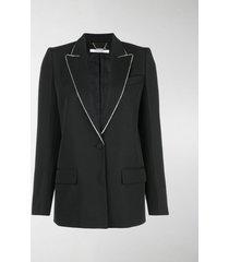 givenchy embellished lapel blazer