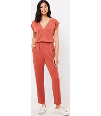 loft lou & grey sandwashed jumpsuit