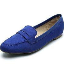 baleta azul royal beira rio