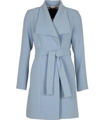 lichtblauw mantel