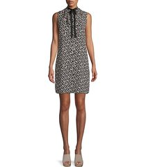 mayfair ditsy floral a-line dress