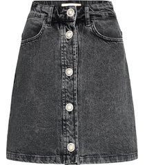ricka kort kjol grå custommade