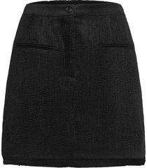 boyas new skirt kort kjol svart second female