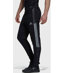 pantalón de buzo adidas performance tiro tk pnt r negro - calce slim fit