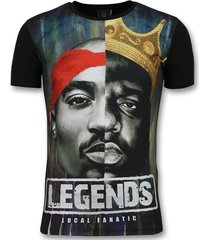 christopher notorious t-shirt - 2pac legends