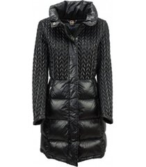 long micro quilted down jacket 2273 6va -
