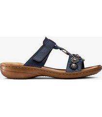 sandaler slip-in med strass