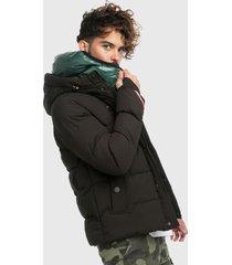 chaqueta negra-verde-multicolor urban tokyo