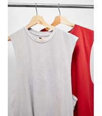 mens multi assorted color tank 2 pack*
