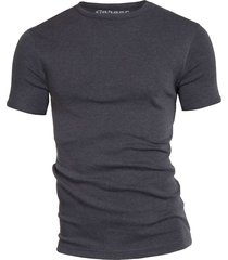 semi bodyfit t-shirt r-neck anthra mãªlã©e