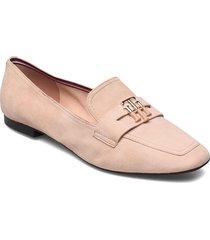 essential hardware loafer loafers låga skor beige tommy hilfiger