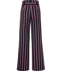 broek pasvorm cornelia met strepen van peter hahn multicolour