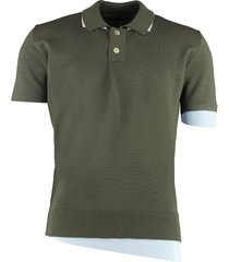 jacquemus knitted wool polo shirt