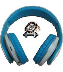 audifono diadema rxe wl-w88 blue - azul y blanco
