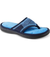 isotoner signature women's 3d matte-satin meg thong slippers
