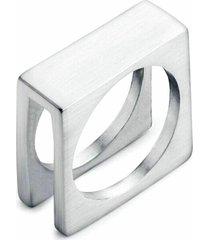 anel empório top aço inox quadratic