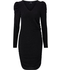klänning vmemmy l/s v-neck dress