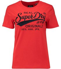 t-shirt real originals rood