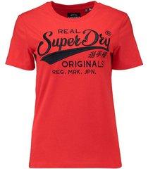t-shirt real originals rood