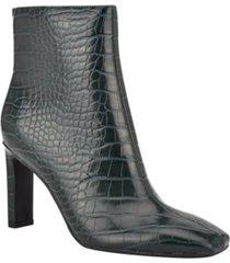 nine west women's jozy heeled booties women's shoes