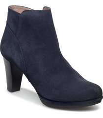 i-4928 shoes boots ankle boots ankle boot - heel blå wonders