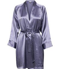 kimono morgonrock blå lady avenue