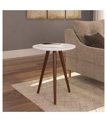 mesa lateral valentinna artesano 24600 retro 50cm pés palito